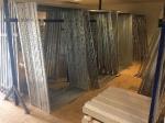 Stahlgerüste für die Weidehütten